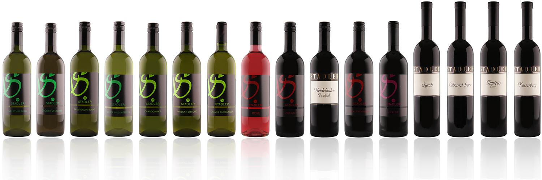 Stadler Weinsortiment